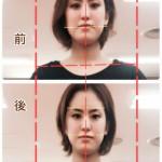 パーツの傾きが改善されると、表情に軸が通る